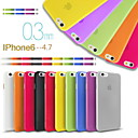 gymnase mince affaire ultra translucide pour iPhone 6 (couleurs assorties)