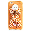 roztomilá plyšová zvířata případ tečkovaný žirafa pro iphone6 / 6s