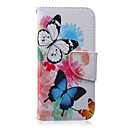 Buy Butterfly Pattern PU Leather Material Phone Case iPhone 5/5S/5C/6/6S/6Plus/6sPlus