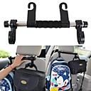 Buy ZIQIAO Universal Auto Seat Back Headrest Luggage Bags Hanger Car Accessories Double Hook Holder