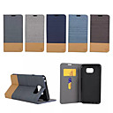 Buy Samsung Galaxy Note Card Holder / Stand Flip Case Full Body Lines Waves PU Leather 5 Edge