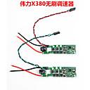 wltoys szakmai herék multicopter xk x380 FPV alkatrészek esc x380-011 x380-010