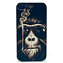 Kinston® Smoking Monkey Pattern PU Leather Full Body Case with Stand for iPhone SE/5/5S