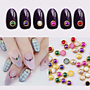 Buy 10Hot Nail Art Pearl Rhinestone 3d Gold Metal Studs Gems Charm DIY Craft Styling Tool Stone Decorations