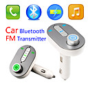 Buy Bluetooth FM Transmitter, Universal Wireless Transmitter/Mp3 Player/Car Charger