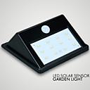 1pc LED Solar Sensor garden Light IP65 10LED Save Energy
