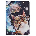 Buy Samsung Galaxy Case Card Holder / Wallet Stand Flip Pattern Full Body Cat PU Leather SamsungTab 4 8.0 Tab