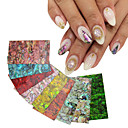 Buy Natural Shell Adhesive 3d Nail Art Stickers Decals DIY UV Gel Polish Design Tips Decoration Tools
