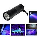 Buy 3AAA Aluminium Invisible Blacklight Ink Marker 12LED UV Ultra Violet Flashlight Torch Light Lamp(Ramdon Color)