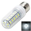 6W E26/E27 LED 콘 조명 B 36 SMD 5730 400-500 lm 따뜻한 화이트 / 차가운 화이트 장식 AC 220-240 V 1개