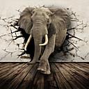 Buy JAMMORY Large Murals Elephants Animals / Cartoon 3D Wall Stickers Stickers,Canvas S M L XL XXL 3XL