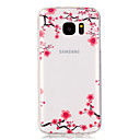 Buy Plum flower PatternTransparent Soft TPU Back Case Galaxy S7 edge/Galaxy S7/Galaxy S6 S6/Galaxy S5