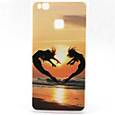 Buy Huawei Case / P9 Lite P8 Pattern Back Cover Heart Soft TPU G8