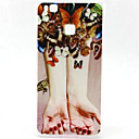 Buy Huawei Case / P9 Lite P8 Pattern Back Cover Butterfly Soft TPU G8