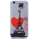 Buy iPhone 6 Case / Plus Glow Dark Translucent Pattern Back Cover Eiffel Tower Soft TPU 6s