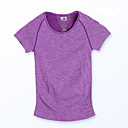 Buy Women's Short Sleeve Running T-shirt Tops Breathable Quick Dry Moisture Permeability Sweat-wicking Spring Summer Fall/Autumn Sports Wear