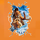 Buy 3D Ice Age 4 Continental Drift Children's Bedroom Wall Stickers PVC Fashion Cartoon Decals
