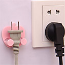 Buy Apple Power Plug Socket Hook Holder Bag Hanger Home Wall Decal Organizer