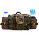Buy 5 L Waist Bag/Waistpack Camping & Hiking Outdoor Waterproof / Multifunctional Army Green Nylon