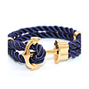 Buy Punk Fashion Men's Bracelet Anchor Alloy Chain Bracelets / Wrap Daily