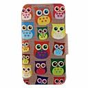 Buy SZKINSTON® Cute Owl Pattern Full Body Leather Stand Huawei P9/P9 Plus/P9 Lite/G9 Honor 4X/3C