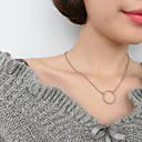 Buy Necklace Pendant Necklaces / Chain Jewelry Wedding Party Daily Fashion Adorable Personality Alloy Gold Silver 1pc Gift