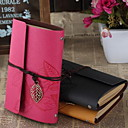 Buy 6 Holes Loose-leaf Bandage Rather Critical Retro Leather Diary Book (Random Colors)