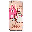 Buy White Rabbit Pattern Material Transparent TPU Phone Case iPhone 6 6S Plus