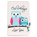 Buy PU Leather Material Owl Embossed Pattern Tablet Sleeve Galaxy Tab T550/T560