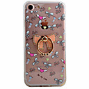 Buy Bow Pattern TPU Material Plus Acrylic Ring Holder Phone Case iPhone 7 7plus 6S 6plus SE 5S