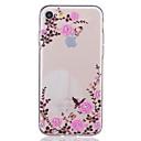 Buy TPU Material Garden Pattern Painted Relief Phone Case iPhone 7 Plus/7/6s Plus / 6 Plus/6S/6/SE 5s 5