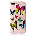 Buy Butterfly Pattern Material Acrylic TPU Phone Case iPhone 7 7Plus 6S 6Plus SE 5S 5