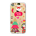 Buy Back Cover Translucent Pattern Christmas gift TPU Soft Case Apple iPhone 7 Plus 6 5