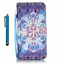 Buy Samsung Galaxy A5 (2016) A3 Case Cover Stylus Crystal Flower 3D Painting PU Phone