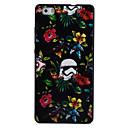 Buy HUAWEI P8Lite Y5II Y6II Case Cover Flower Pattern Black TPU Material Phone Shell