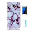 Buy Samsung Galaxy J7(2016) Case Cover Screen Protector Stylus Granite Marble Pattern Soft TPU J5 J7 J3(2016) Grand Prime