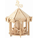 Buy Playground Puzzles Wooden Building Blocks DIY Toys Chinese Architecture 1 Wood Ivory Puzzle Toy