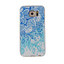 Buy Samsung Galaxy S7Edge S7 S6Edge S6 S5 S4 Case Cover Blue White Painted Pattern TPU Material Phone
