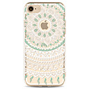 Buy Apple iPhone 7 7Plus 6S 6Plus Case Cover Green Flower Pattern Painted TPU Material Soft Package Phone