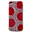 Buy iPhone 7 7plus 6S 6plus Case Cover Watermelon Pattern Full Painted TPU Material Phone