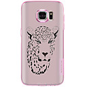 Buy Samsung Galaxy S7 Edge S6 Case Back Cover Leopard Head Pattern Soft TPU Plus Active S5