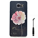 Buy Samsung Galaxy A5 A3 (2016) Case Cover Flower Pattern Super Soft Painting High Permeability TPU Material Phone Touch Screen Pen