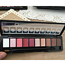 Buy 10 Colors Eyeshadow Makeup Cosmetic Matte Shimmer Eye Shadow Palette Set Mirror Sponge