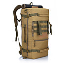 Buy 50 L Travel Duffel / Backpack Rucksack Camping & Hiking Climbing Outdoor Waterproof Wearable Black Army Green Camouflage Nylon