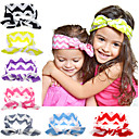 Buy Cute Born Baby Girls Cool Cotton Headband Elasticity Node Printing Children Hair Accessories