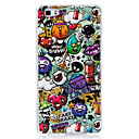 Buy Glow Dark IMD Pattern Case Back Cover cartoon animals Soft TPU Huawei P9 Lite P8