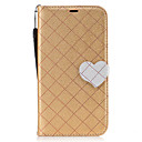 Buy Samsung Galaxy J7 J5 (2017) Case Cover New Grid Pattern Love Buckle PU Material Hit Color Phone J3 (2016)