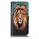 Buy Huawei P10 Lite P8 (2017) PU Leather Material Lion Pattern Relief Phone Case Plus P9