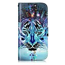 Buy Apple iPhone 7 Plus 6S 6 SE 5S 5 Case Cover Wolf Pattern Shine Relief PU Material Card Stent Wallet Phone