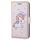 Buy Case Huawei P10 Lite Cover Card Holder Flip Pattern Full Body Unicorn Hard PU Leather P9 P8 2017